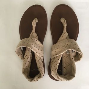 "Sanuk ""Yoga sling sandals"""